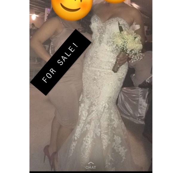 Maggie Sottero Dresses & Skirts - Maggie Sottero Size 12 mermaid wedding dress.